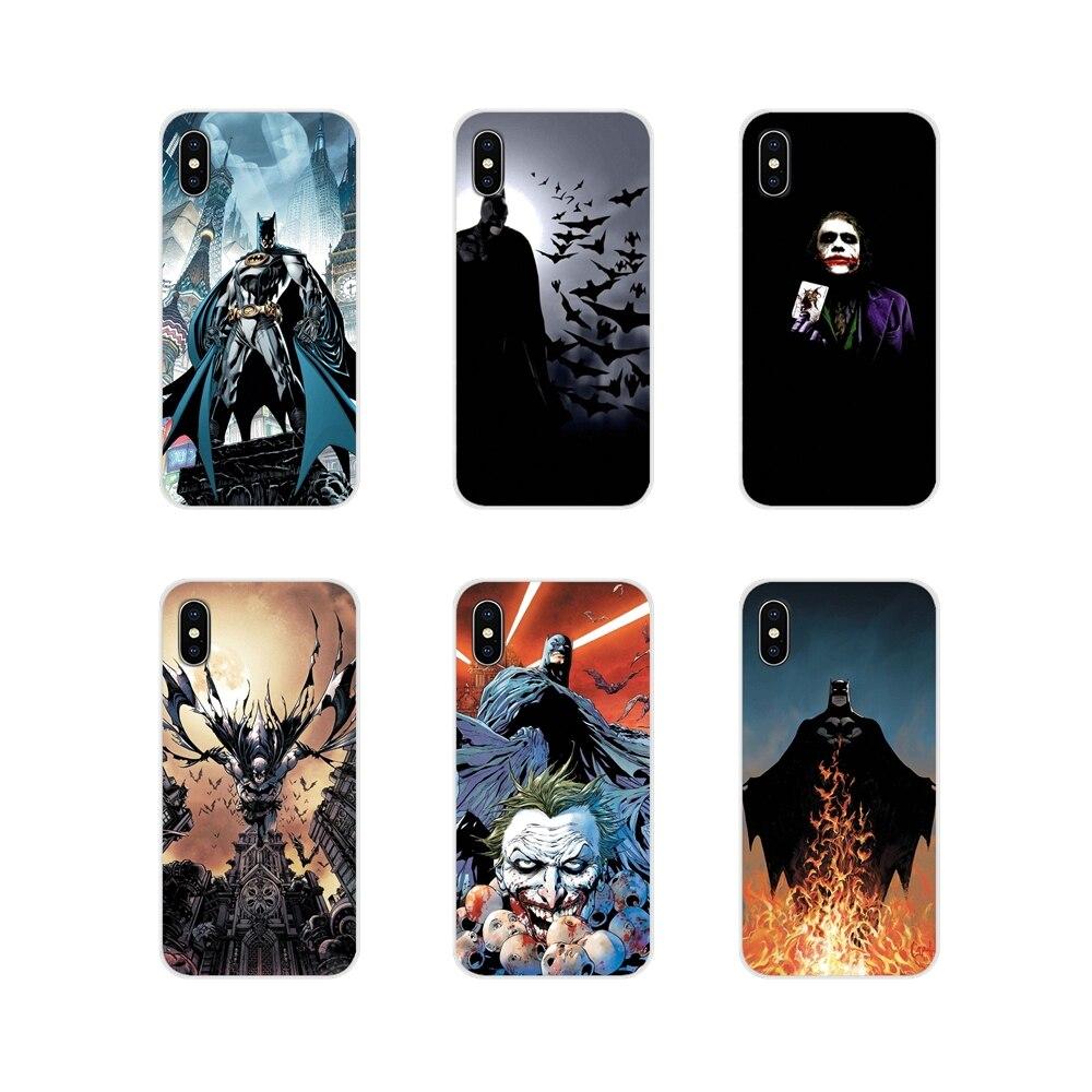 Para Motorola Moto X4 E4 E5 G5 G5S G6 Z Z2 Z3 G G2 G3 C jugar Plus cubiertas de los casos del teléfono DC Comics Batman Joker Harley