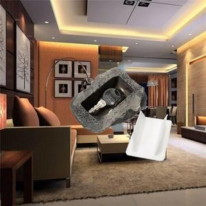 Image 5 - Alternate Sleutel Huis Beveiliging Verborgen Verborgen Beveiliging Rock Key Box Fake Rock Tuin Decoratie 6x8x3 cm safe Secret Opslag DHZ001