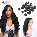360 Lace Frontal With Bundle Indian Body Wave Pre Plucked 360 Frontal With Bundles Human Hair Lace Frontal Closure With Bundles
