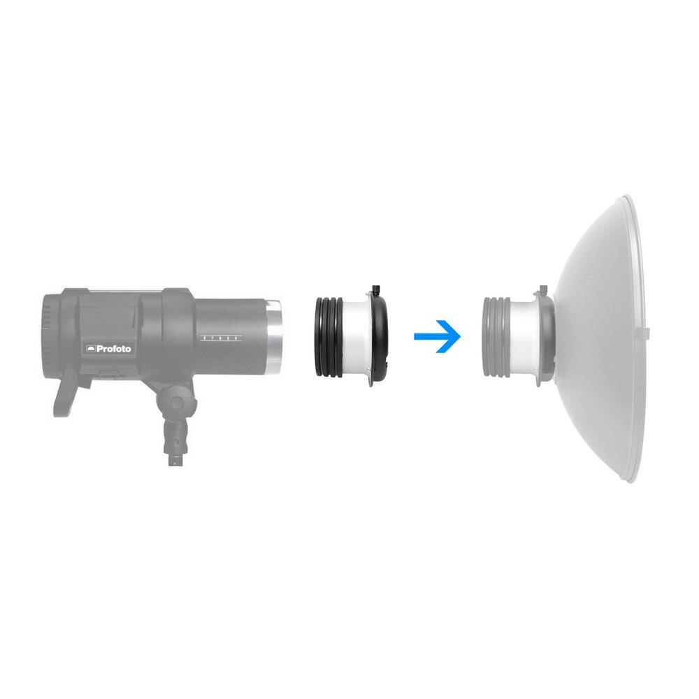 Image 2 - Speedring Adapter Profoto Head to Bowens Mount Converter For  Softbox Snoot Beauty Dish Studio Lighting Accessories Fotografiabowens  mountprofoto bowenssoftbox head