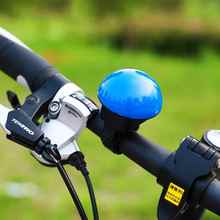 Plastic Cute MTB Road Mountain Bicycle Bell Electronic Cycling Horn Mushroom Bike Bell Small Horn Ring Bell Accessories