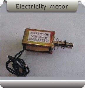 Бесплатная доставка ZYE1-1038 12/24 в 5N 10 мм рамка тяга электро удерживающий магнит/тяговый двигатель нажимного типа/автоматический сброс
