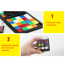 2018 New Rubik Race Board Game Parent-child activity Ultimate Strategy Puzzle Funny Family Party Magic Cubes Toys for children