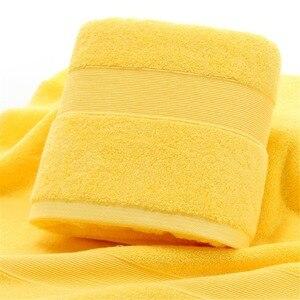 Image 2 - 2 pcs Cotone Egiziano Viso Telo da bagno di Sport di Colore Solido Asciugamano 5 Star Hotel Uso Domestico di Alta Qualità 35*75 centimetri Asciugamani per il viso