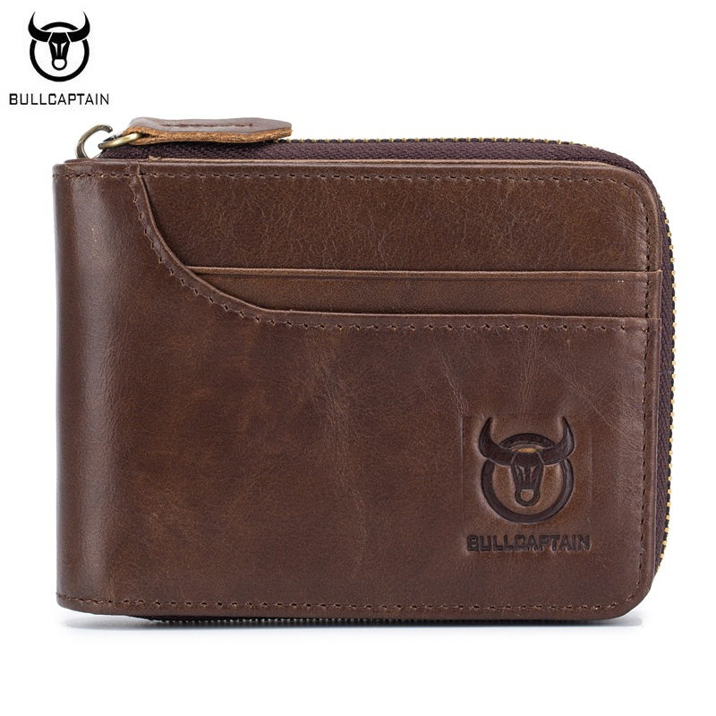 Aliexpress.com : Buy BULLCAPTAIN 100% Genuine Leather Men