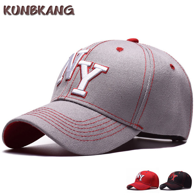 52bcd21f High Quality New York Baseball Cap Men Embroidery Letter Hip Hop Caps  Gorras For Women Outdoor Casual NY Snapback Sun Hat Bone-in Baseball Caps  from ...
