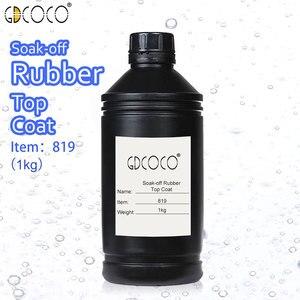 Image 4 - CANNI Supply Soak off UV/LED No Wipe Top Coat Bulk Package 1kg GDCOCO Durable Gel Nail Beauty Salon Using Base Coat Top Coat