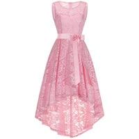 Newest 13 20yrs Teenager Summer Dress Sweet Toddler Top Grade Lace Sleeveless Girls Dress Fashion Princess Party Girls Clothing