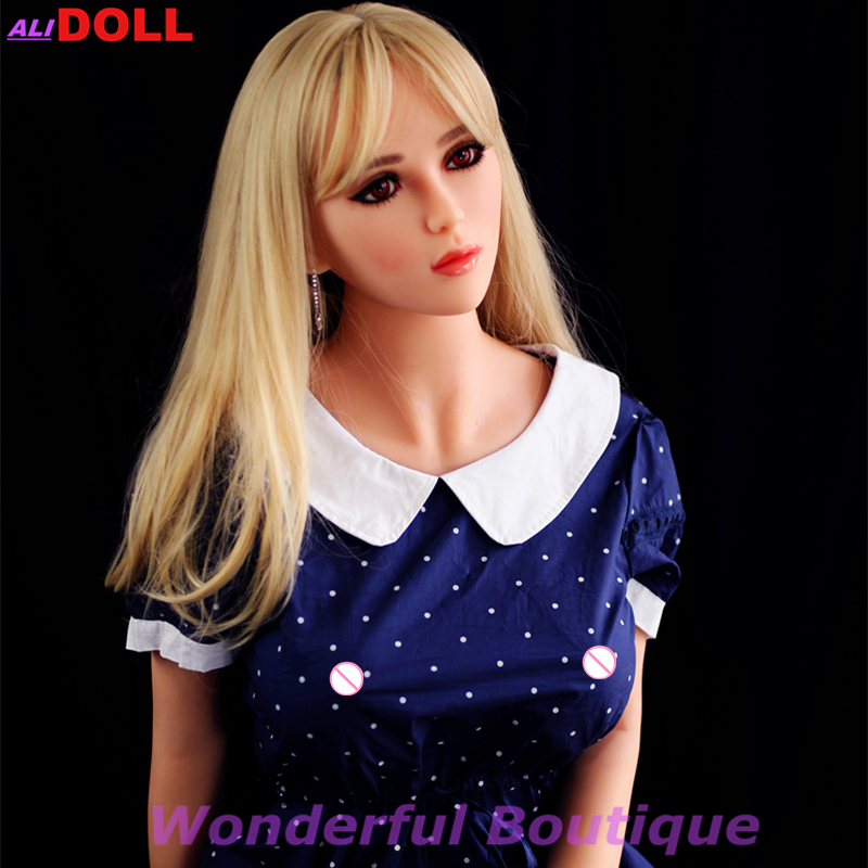 Top New Solid Silicone Beauty Angel 165Cm Sex Doll For Men -1497