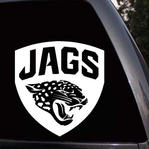 Car styling for jacksonville jaguars football car window truck laptop vinyl decal sticker 002