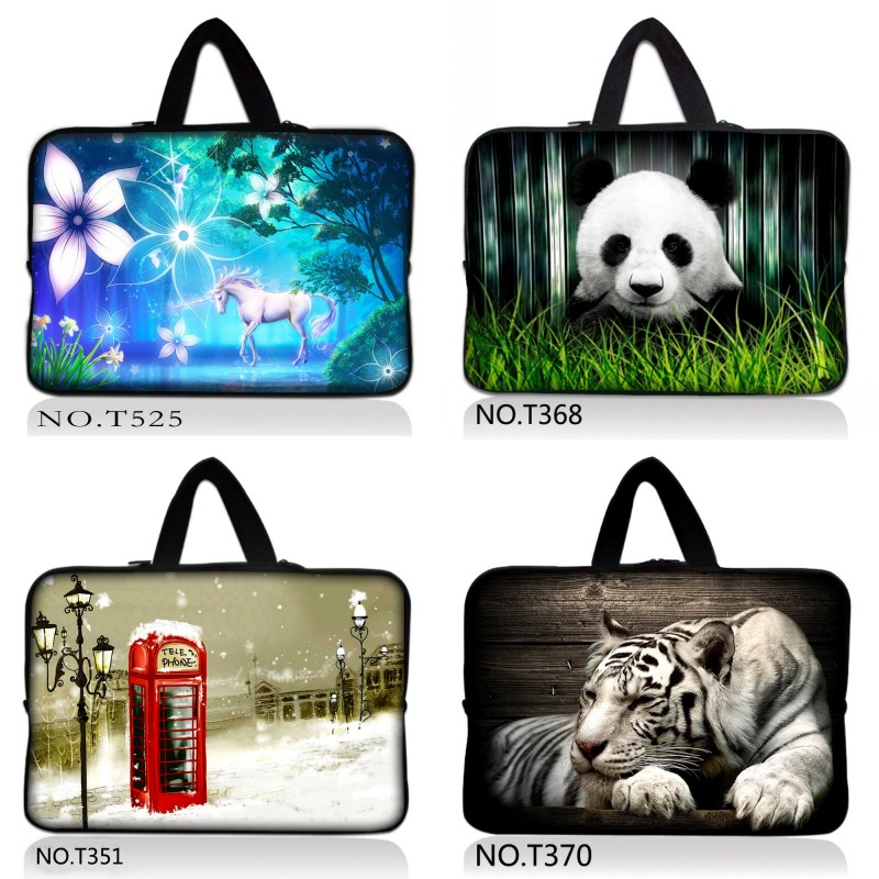 9.7 10.6 11.6 13 13.3 14 17 17.3 15 15.6 Laptop Sleeve Case Bag Cover+Hide Handle For HP ...