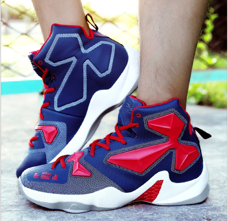 100% authentique 64df5 3cb84 US $30.95 |Sport Outdoor Shoes Jordan Same Style High top Air basketball  shoes Femme Shoes For Men Breathable Athletic jogging shoes-in Basketball  ...