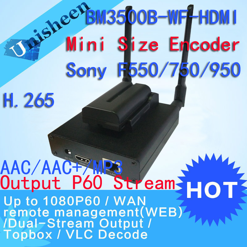 H.265 HEVC H.264 wifi HDMI Video Encoder streaming encoder HDMI Transmitter live Broadcast encoder wireless iptv H264 encoder