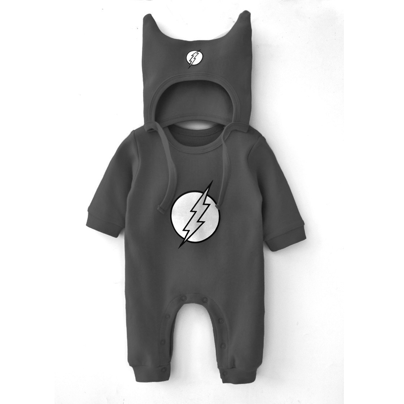 Cotton 3 Colors Newborn Baby Infant Boy Girl Romper Jumpsuit Clothing Set Long Sleeve Spring Brand Superhero Batman Costumes newborn infant baby boy girl clothing cute hooded clothes romper long sleeve striped jumpsuit baby boys outfit