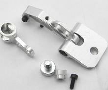 цена на High Quality FPV Display Monitor Mounting Bracket Metal Holder Shortcut for FUTABA JR Crosswise RC Transmitter