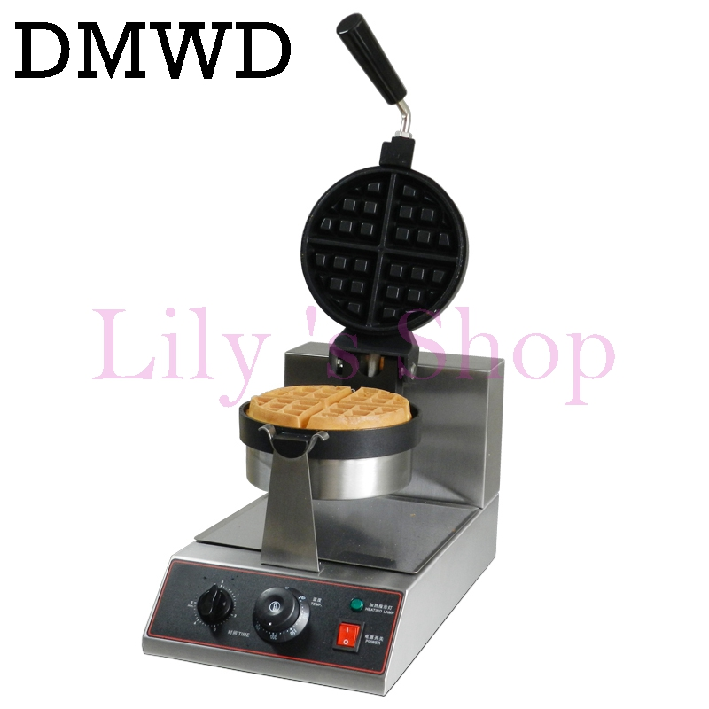 Stainless Steel Electric Egg cake oven QQ Egg Waffle Maker Muffins Cake machine Baker Waffle Irons EU US plug for coffee store 1pc electric 220v 110v 6 hole round cake grill sweet donut maker electric for cake baker waffle maker