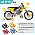 MX Motocross Offroad Bling Kits para SUZUKI RMZ250 RMZ 250 2007-2016 RMZ450 RMZ 450 05 06 07 08 09 10 11 12 13 14 15 16
