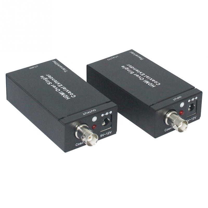 400m HDMI Coaxial Extender RG-6/59 1080P Extender Transmitter hsv379 hdmi coax extender 1080p with no time latency and video lossless hdmi over single rg59 rg 6u coaxial cable extender