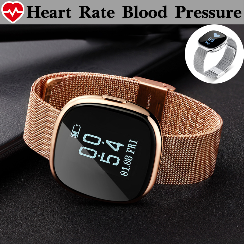 Blood Pressure Bluetooth Connectivity Smart Watch Clock Waterproof Swim Heart Rate font b Smartwatch b font