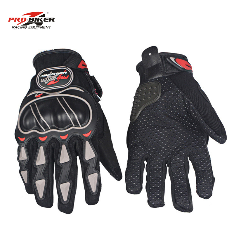 Pro-biker gloves motocross summer motorcycle gloves moto bike mesh gloves fingers luvas para motoqueiro guantes para motocicleta