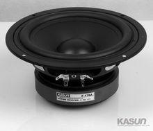 2PCS Kasun F 178A 6 5 Paper Woofer Speaker Driver Unit PP Cone 8ohm 110W Max