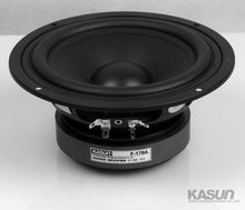 "2PCS Kasun F-178A 6.5"" Paper Woofer Speaker Driver Unit PP Cone 8ohm/110W Max Dia178mm Fs 41Hz"
