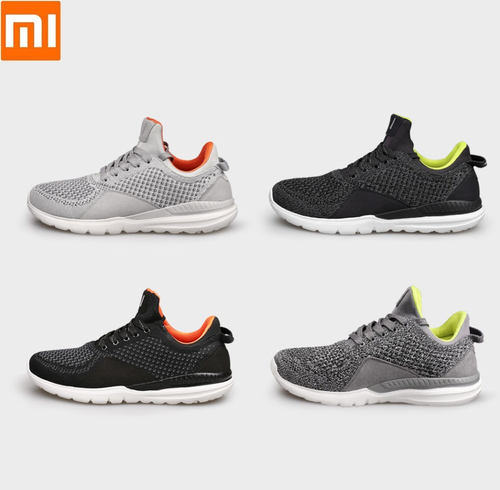Xiaomi Outdoor Walking Sneakers Brand Men Non slip Comfortable Breathable Lightweight Sport Shoes One World Knit Upper Shoes in Men 39 s Casual Shoes from Shoes