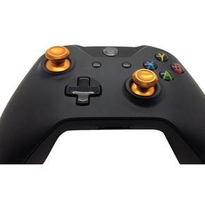 Image 5 - الألومنيوم معدن المقود النظير متحكم الأصابع XBOX ONE قبضة كاب غمبد إصلاح الجزء للبلاي ستيشن 4 PS4 ضئيلة الموالية DS4 ذراع تحكم أكس بوكس واحد