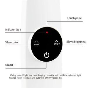 Image 4 - โคมไฟตั้งโต๊ะแบบยืดหยุ่นTouchตารางโคมไฟสำหรับห้องนั่งเล่นสก์ท็อปพับได้Dimmable EyeการศึกษาโคมไฟLed Light
