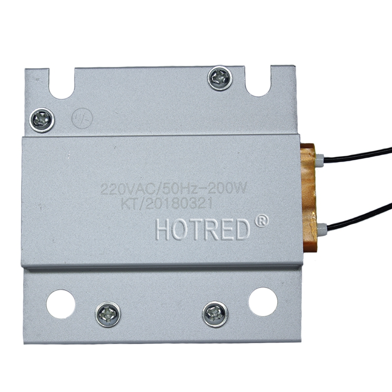 1Pcs 220V Constant Temperature PTC Heating Element Platform Mini Small Thermostat Heater Plate 200W Optional With Cable And Plug