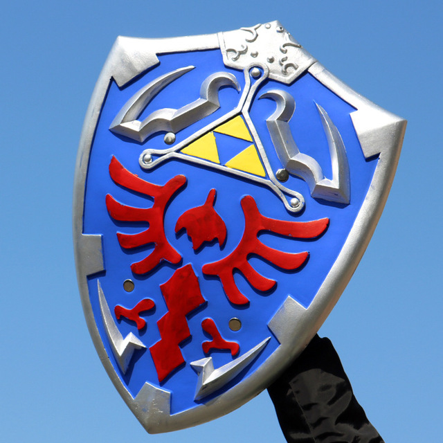 Legend of Zelda Zelda cosplay soft PU shield