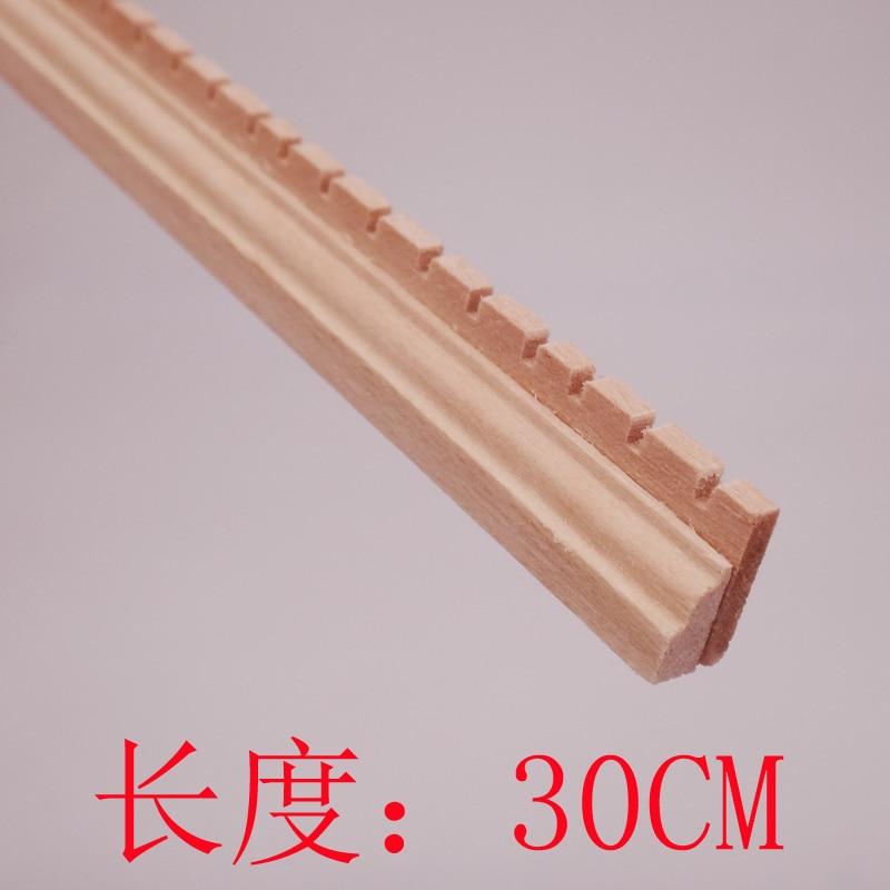 Wholesale Dollhouse miniature wood trim line molding skirting line 12pcs