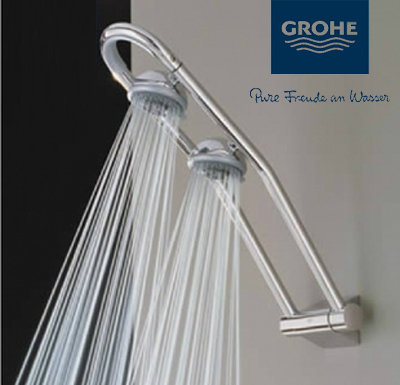 Germany Grohe GROHE 27004000 with the rotating shower set can rotate ...
