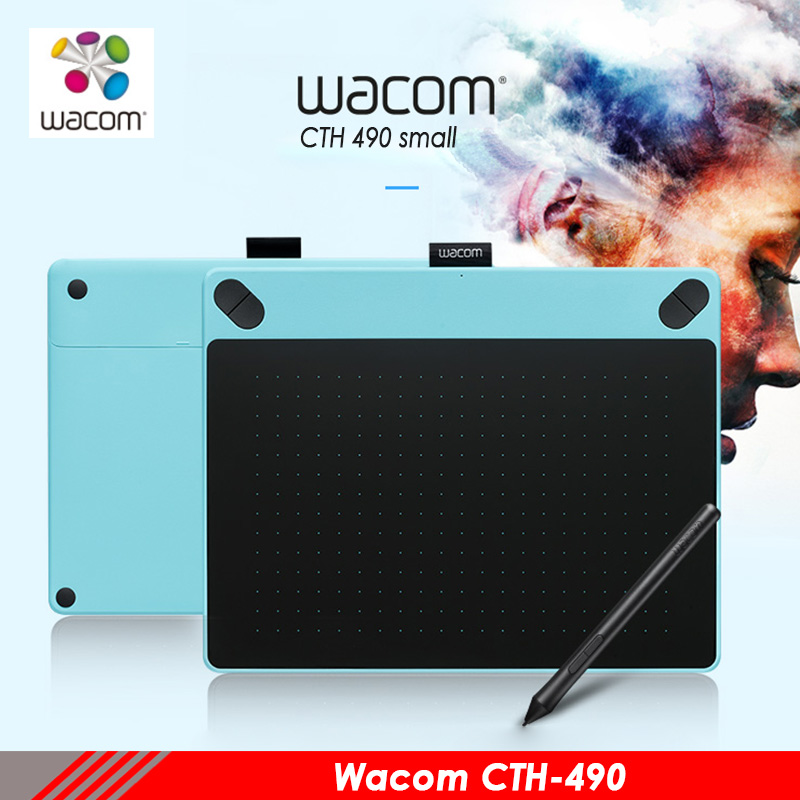 Wacom intuos Art cth490 tablettes numériques peinture tableau électronique anime conception tablette professionnelle