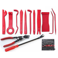 13PCS/Lot Car Auto Upholstery Refit Tools Clip Pliers Fastener Remover Door Panel Audio Disassembly And Assembly Kits Set