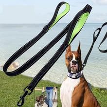 Поводок для собаки поводок для собак кошек Нейлон прогулки выбранный Размер 1,5 м 1,8 м Открытый безопасности Обучение Собаки Жгут собаки жгут