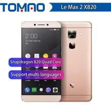 """מקורי Letv LeEco Max2 X820 4G LTE מקסימום 2 נייד טלפון Snapdragon 820 quad Core 5.7 """"2560x1440 6GB RAM 64/128GB ROM 21MP Google"""