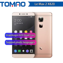 Original Letv LeEco Max2 X820 4G LTE Max 2 Mobile Phone Snapdragon 820 quad Core 5.7