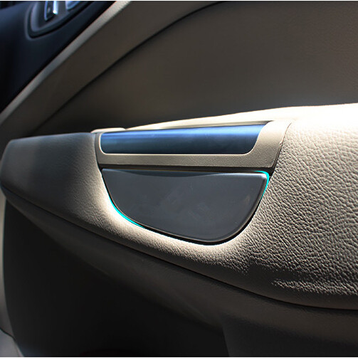 Car inner interior door handle cover bowl panel insert inside car inner interior door handle cover bowl panel insert inside storage box trim accessories case fit for ford kuga escape in stowing tidying from planetlyrics Images