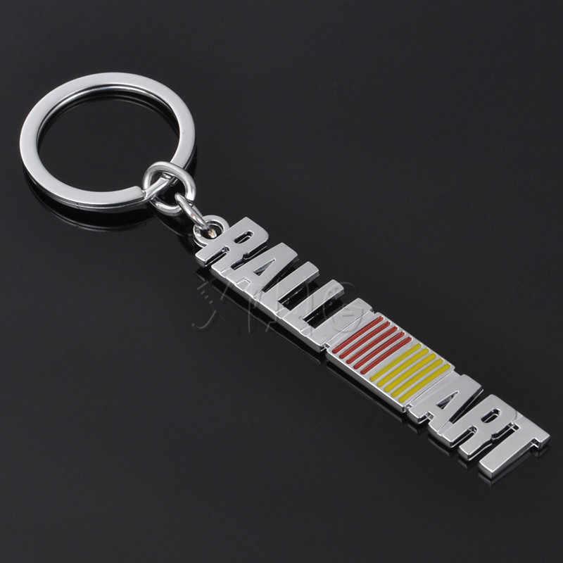 Auto Sleutelhanger Sleutelring Sleutelhanger Houder Keyfob Voor Mitsubishi ralliart Lancer 9 10 Asx Outlander Pajero L200 Auto Styling