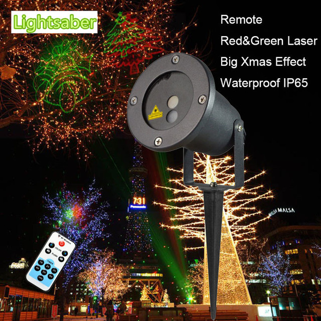 remote rg 8 big lawn lamp outdoor waterproof light laser projector outdoor lighting christmas lights red