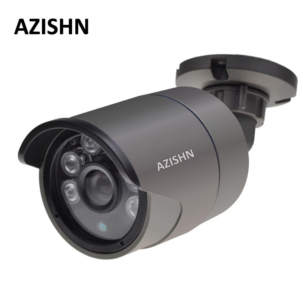 H.265/H.264 IP Caméra 2MP F22 4MP OV4689 25FPS DC12V/48 v PoE ONVIF Détection de Mouvement IP66 Métal surveillance extérieure CCTV Caméra