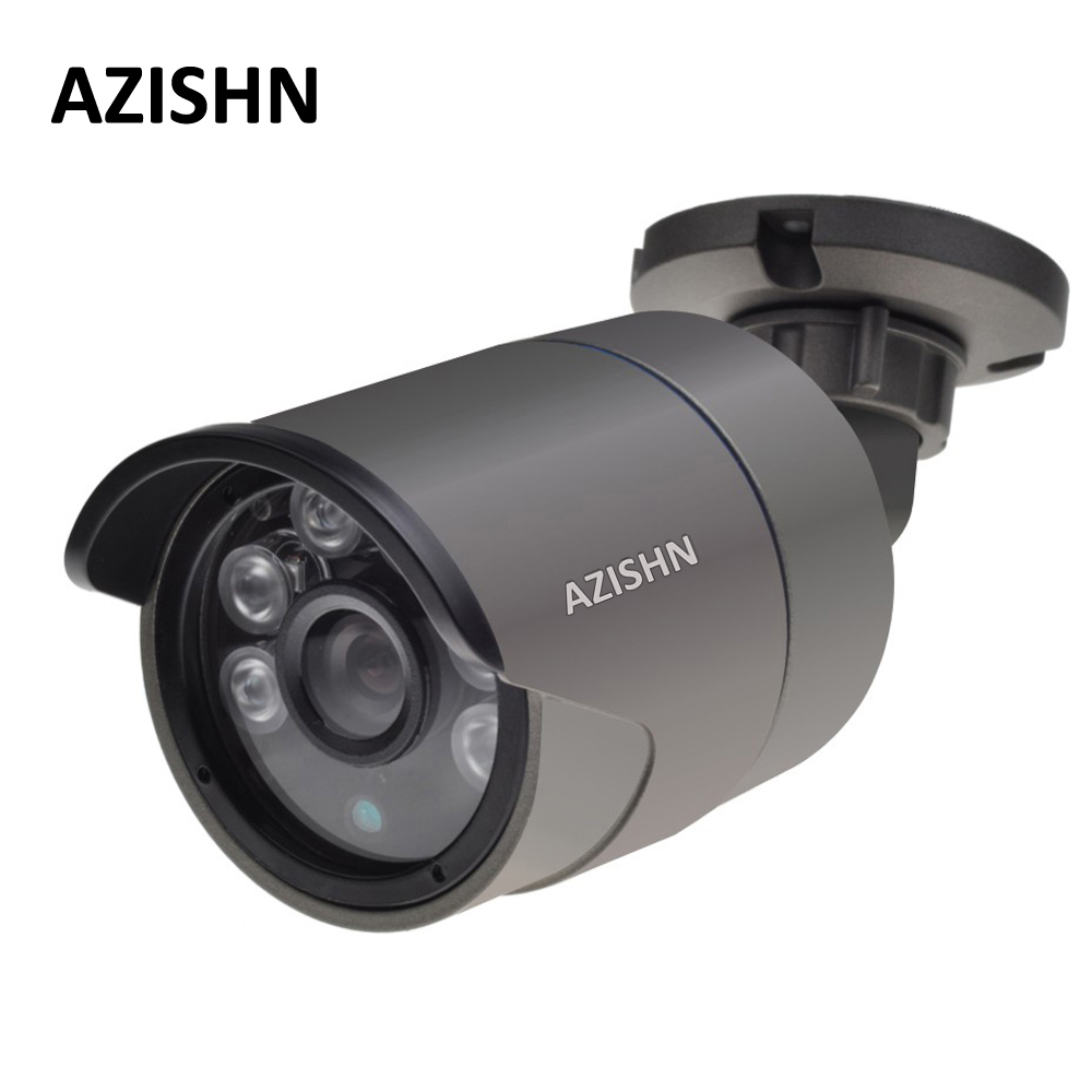 H.265 IP Camera 2MP F22 4MP OV4689 25FPS DC12V/48V PoE ONVIF Motion Detection IP66 Metal Outdoor Surveillance CCTV Camera