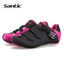 Santic Ultralight Cycling Shoes Unisex TPU Bicycle Road Locking Shoes Sneakers Sapatilha Ciclismo 2018 Pro Team