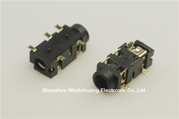 10pcs Phone Jack Diameter 3.5mm 5 pin audio socket for 3 poles earphone plug SMD type reflow solderable with locators DC30V 0.5A 10pcs phone jack diameter 3 5mm 7 pin audio socket for 4 poles earphone plug smd type reflow solderable with locators dc30v 0 5a