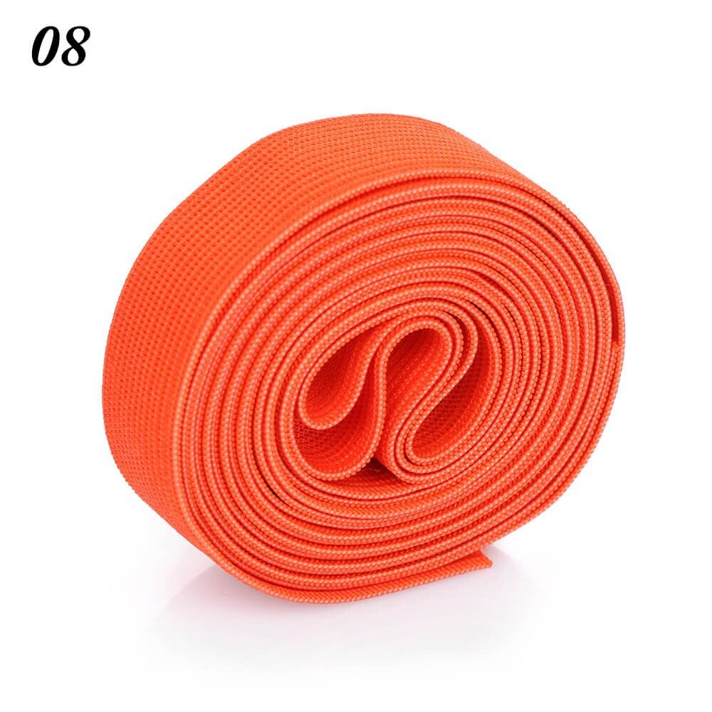 2 м/рулон многофункциональная эластичная лента плотная плетеная резинка из полиэстера шитье из кружева отделка ленты для талии аксессуары для одежды домашний текстиль - Цвет: 8