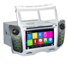 6.2 «емкостный Сенсорный экран автомобиль dvd-плееры GPS навигации для Toyota Yaris 2005 2006 2007 2008 2009 2010 2011 Win 8 UI Радио