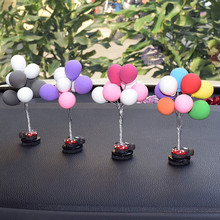 1 Piece Car Styling Interior Accessories Creative Colorful Balloon Dashboard Ornaments