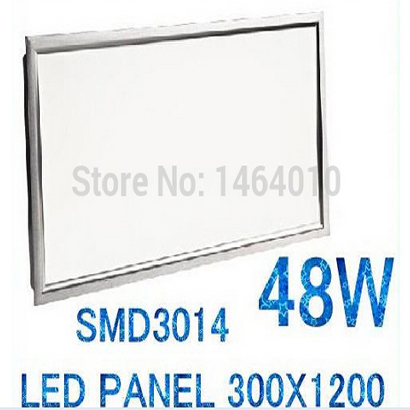 Free Shipping X4 Led Panel 300x1200 Hot Sales High Quality SMD 3014 48W ceiling lighting for Kitchen Office focus With Driver free shipping 3000pcs smd 1n4148 ll4148 1206 cylindrical glass sealed switching diode disc sales 100