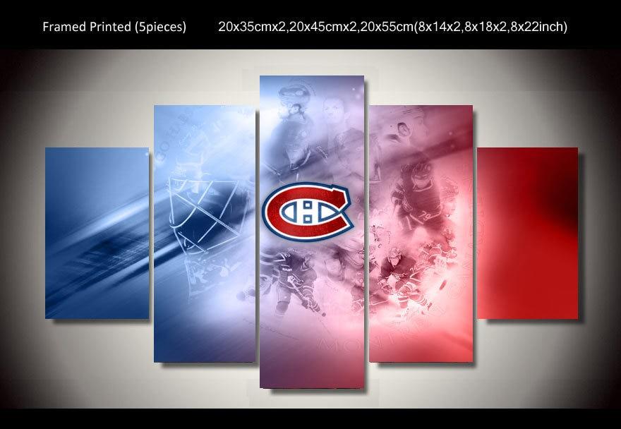 Popular hockey paintings buy cheap hockey paintings lots for Decoration chambre hockey